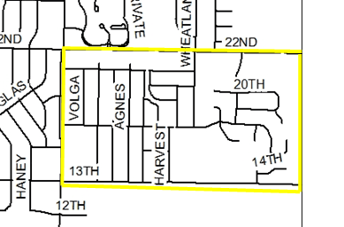 3-26-2019 Hydrant Flow Test Map