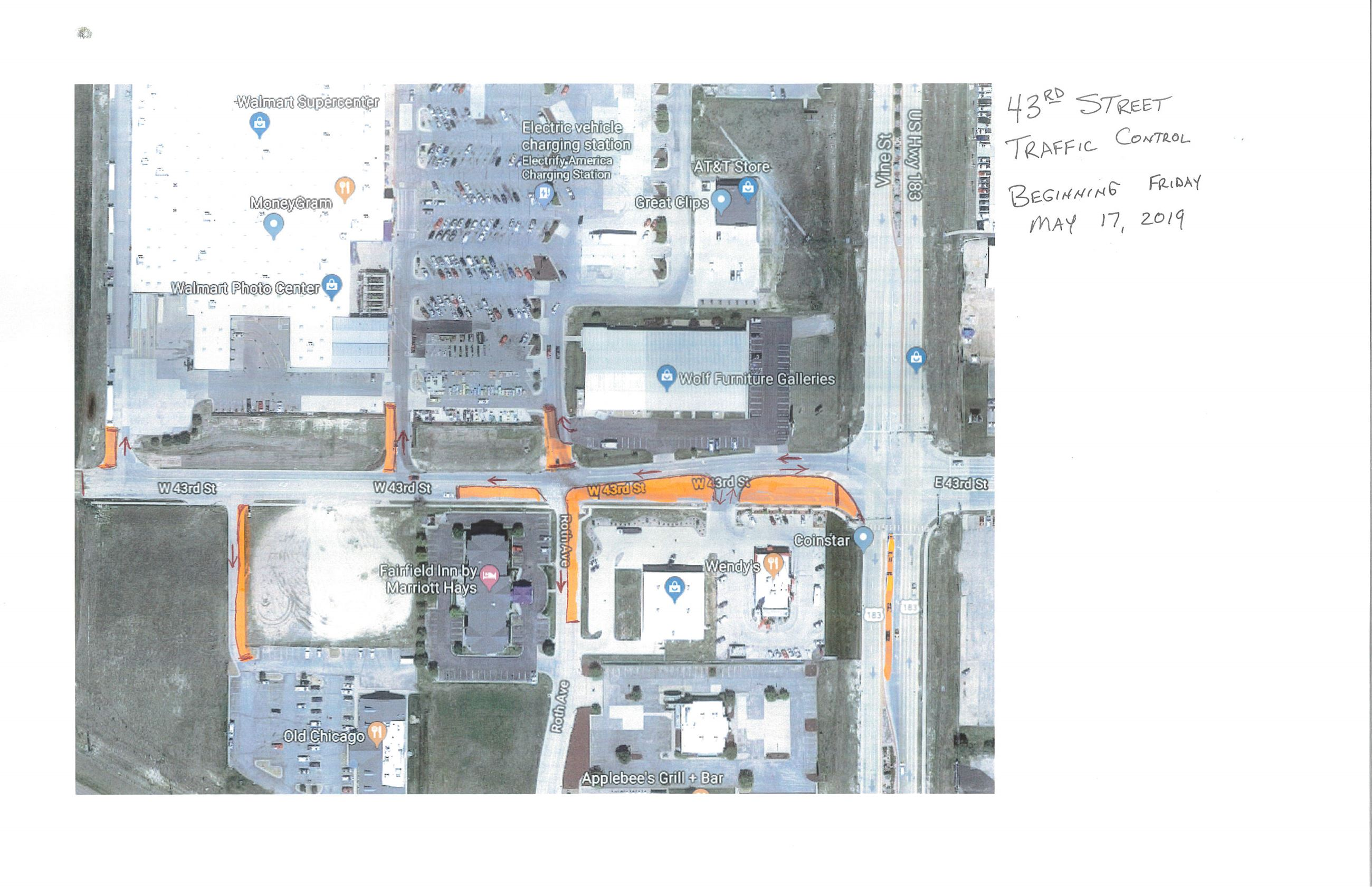 43rd Street Traffic Control - May 17th