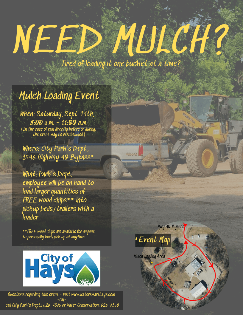 Mulch Loading Event Flyer