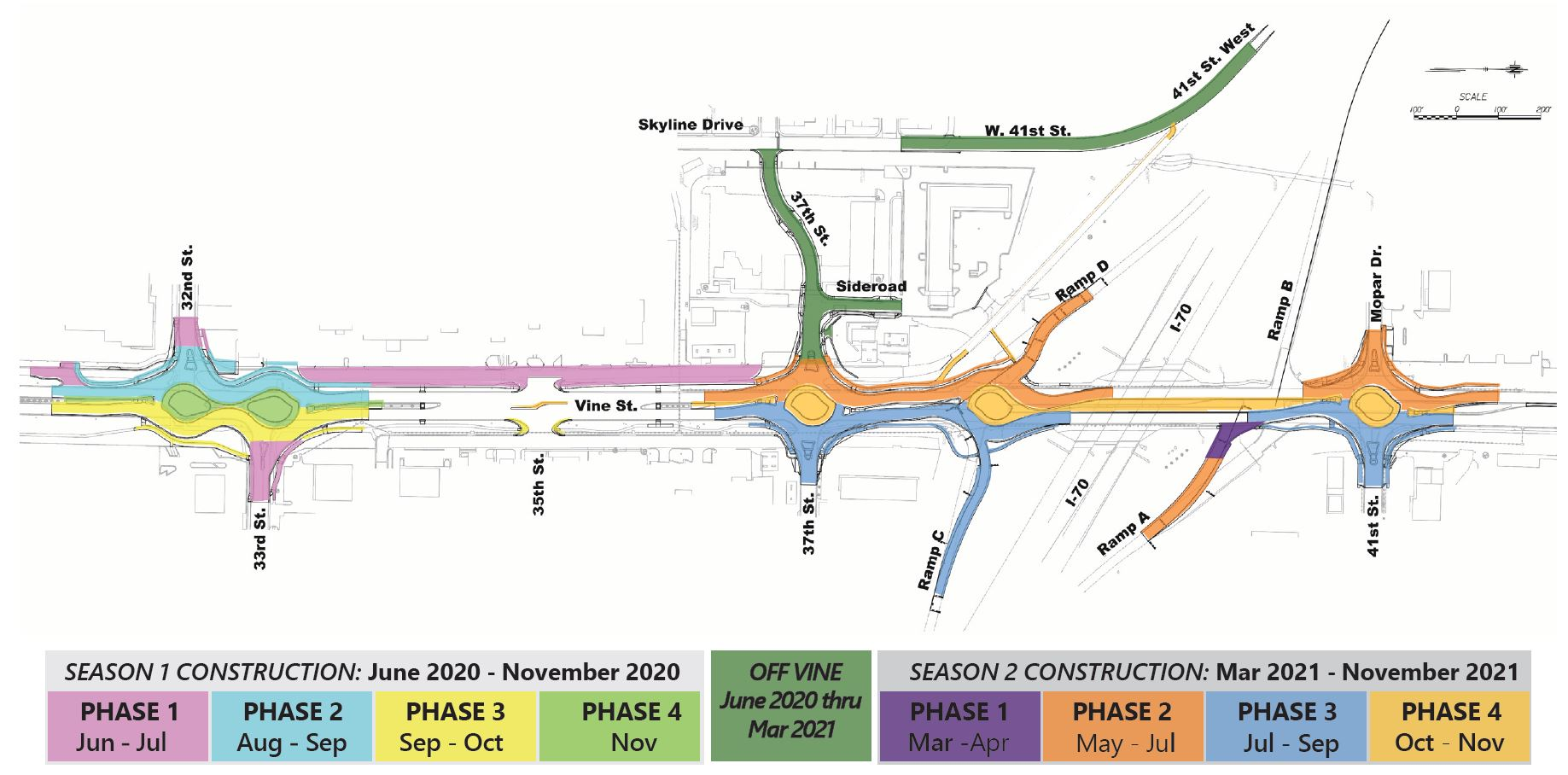 Vine Street Construction Sequence Revised