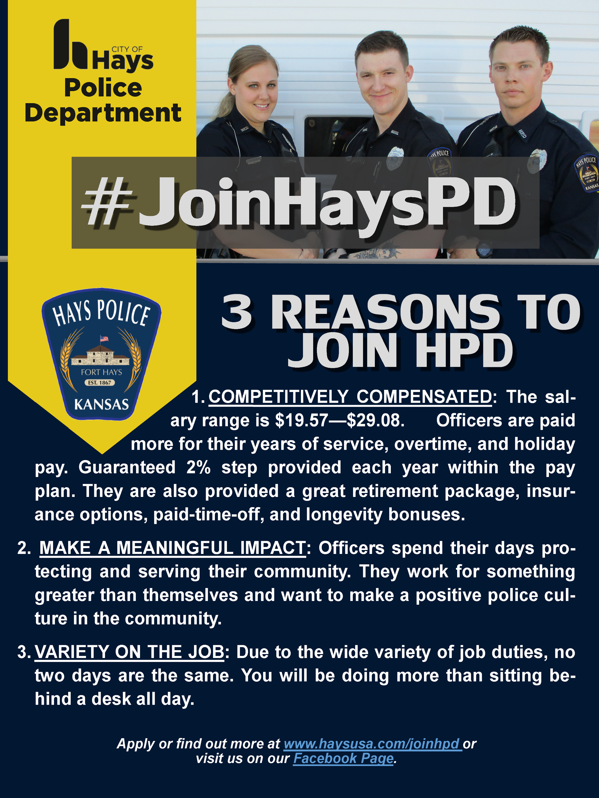 3 Reasons to Join HPD 1