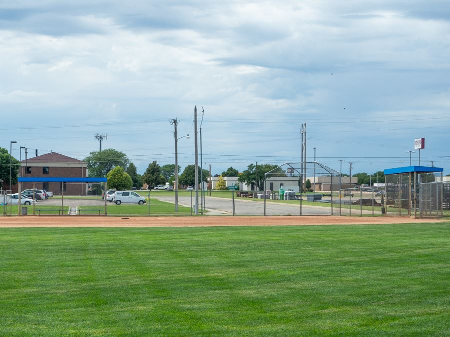 Ball Diamond View from the Outfield